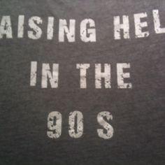 Raising Hell In The 90's #nastygal #minkpink