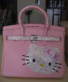 Hello Kitty Bling Leather Bag