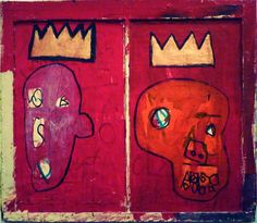 I like this Basquiat so much I'm going to have to forge it, I think. Shhhhhhhh.....