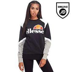 Ellesse Scafiti Crew Sweatshirt - Shop online for Ellesse Scafiti Crew Sweatshirt with JD Sports, the UK's leading sports fashion retailer. Ellesse, Jd Sports, Sports Women, Bikini, Crew Sweatshirts, Sport Fashion, Beautiful Outfits, Adidas Jacket, Sportswear