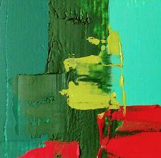 JLMoraisArq, Abstrata, oil on paper 6x6 cm, catálogo: AbstOilPap25317MartiusXVII. estratigráfica: camadas de tinta sobrepostas, aplicadas em bandas verticais e horizontais, esfregadas, borradas e raspadas; acabamento da superfície: textura predominante lisa. Instrumento: espátula.