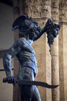 A Real Medusa of a Family Conflict: Perseus and Medusa's head. Let it hang!