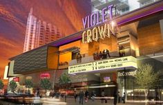 Violet Crown Cinema - 434 West 2nd Street luxury cinema since we don't have one in the bay yet :[