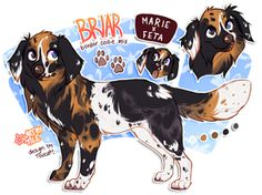 commission: briar by BabyWolverines Cool Art Drawings, Cute Animal Drawings, Animal Sketches, Dog Drawings, Anime Wolf, Anime Animals, Cute Animals, Chibi, Puppy Drawing
