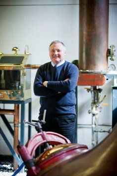 James MacTaggart, Distillery Manager Arran distillery