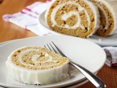 There's always leftover canned pumpkin in the pantry, and this yummy bourbon cake is an excellent way to use it up. Pro tip: Be sure to work quickly when removing the warm cake from the pan and rolling it. If the cake cools too soon, it will crack when you unroll it.