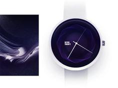 Simple Watch face concept  by Gleb Kuznetsov #Design Popular #Dribbble #shots