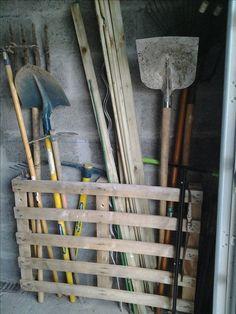 Ratelier à outils de jardin Instructions de montage...