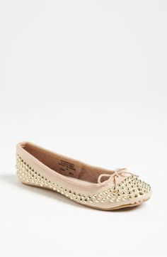 I LOVE THESE!!! Topshop 'Vivid' Flat available at #Nordstrom