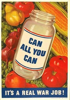 Are you canning all you can?