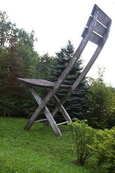 Krzesło Tadeusza Kantora w Hucisku