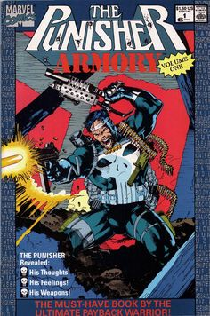 Punisher Armory Comic Covers number 1 | Punisher Armory