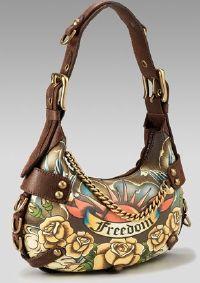 Isabella Fiore Freedom Tatoo Hobo Bag...gotta have it!!!