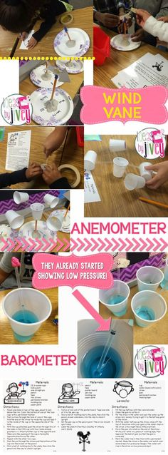 Students create the weather instruments to understand how they work! Free directions included!
