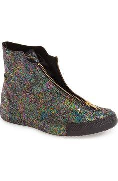 24935d947fd Converse Chuck Taylor® All Star®  Oil Slick Shroud  High Top Sneaker ( ·  Black ...