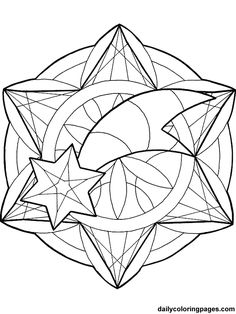 Christmas ornaments coloring pages -- lots of other coloring pages on the site