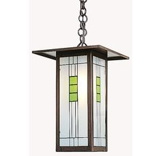 View the Arroyo Craftsman FH-9L Stained Glass / Tiffany Single Light Mini Pendant from the Franklin Collection at Build.com.