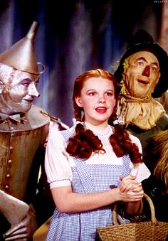 The Wizard of Oz. It came on TV once a year when I was a kid. I don't know why but I think always in the spring? Good childhood memory!
