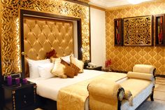 Bedroom of the Presidential Suite