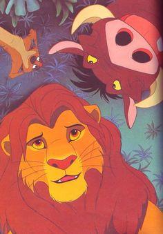 Der König der Löwen Simba, Timon und Pumbaa - New Ideas Disney Magic, Art Disney, Film Disney, Disney Movies, Disney Ideas, Pixar Movies, Simba Disney, Disney E Dreamworks, Disney Lion King