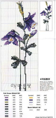 Gallery.ru / Фото #9 - 2 - irisha-ira Butterfly Flowers, Cross Stitch, Embroidery, Amazing, Bath, Towels, Punto De Cruz, Dots, Patterns