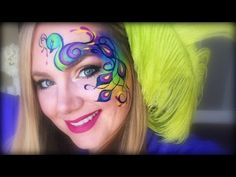 A Beautiful Peacock Face Painting By Lisa Joy Young | Inspired Faces | Page 2