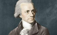 """Sir William Herschel (1738-1822). German-born English astronomer. In 1781 William Herschel was the first person in history to discover a new planet, the one we know as Uranus. With the assistance of his sister Caroline Lucretia, William did the first all-sky survey of nebulae and revolutionized the science of astronomy. (Portrait John Russell, credit National Maritime Museum, London) ©Mona Evans, """"Herschel Museum of Astronomy"""" http://www.bellaonline.com/articles/art48626.asp"""