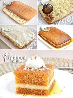 How to Make Bread Kadayıfı Recipe? Buttermilk Bread, Springform Pan, How To Grow Taller, How To Make Bread, Pain, Bread Recipes, Cookies, How To Make, Cake Cookies