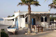 Charming seaside restaurant in Puglia