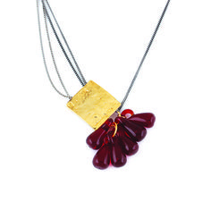 Red Cascade Necklace