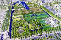 Buro Sant en Co landschapsarchitectuur - Winning design in competition for Park Frankendael in Amsterdam