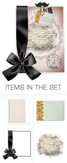 """""""""""Moustache"""" a Parisan Fall Notebook"""" by disneyfreak88 ❤ liked on Polyvore featuring art"""