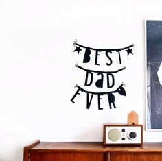 #Wordbanner #tip: Best #dad ever - Buy it at www.vanmariel.nl - € 11,95