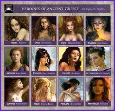 Héroïnes de la Grèce antique