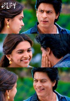 Shah Rukh Khan and Deepika Padukone - Chennai Express Bollywood Quotes, Bollywood Actors, Bollywood Celebrities, Bollywood Fashion, Srk Movies, Kuch Kuch Hota Hai, Chennai Express, Indian Goddess, Sr K