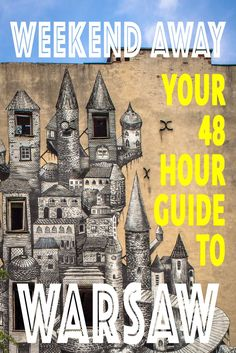 This weekend guide has everything a budget backpacker wants to tick off the things to do in Warsaw Poland. Tourist attractions, hidden gems, hipster hideouts, free concerts, night life and amazing CHEAP Polish food