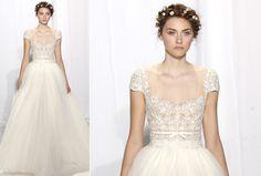 Os vestidos mais bonitos da semana de moda de noivas de NY » Harper's Bazaar