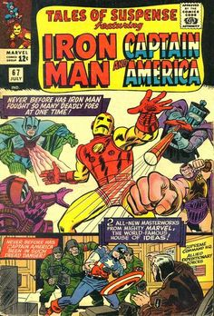 Tales of Suspense # 67 by Jack Kirby & Mike Esposito