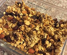 I like granola on my yogurt but have been wanting a healthier version than my store-bought variety.  I came across a recipe on the Mind Over Munch Youtube channel recently and decided to give it a …