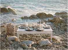 dining by the sea in the french Riviera • images by Sarah Stefani