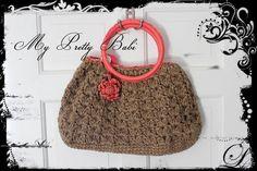 Crochet Tote Bag Crochet Bag Handmade Bag