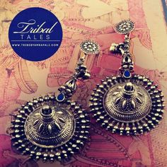 Oxidized silver jewellery from Amrapali, Jaipur