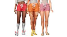 frubynoo : eco lifestyle: knit shorts recolour 12 colors from... The Sims, Sims Cc, Sims 4 Update, Pants For Women, Clothes For Women, Knit Shorts, Plain Black, Matching Outfits, Must Haves