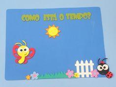 Painel Como está o tempo para educação infantil www.petilola.com.br