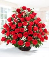 Is receiving this many roses overwhelming?