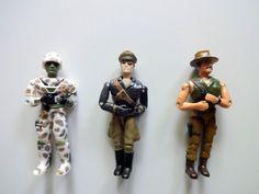 Vintage Lanard The Corps 1990 Lot of 3 Loose Action Figures 90's #Lanard