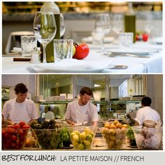 Editors Picks: Best for Lunch - La Petite Maison London Restaurants, Table Settings, Lunch, Table Decorations, Home Decor, House, Decoration Home, Room Decor, Table Top Decorations