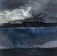 Sea Strata 3 - Laura Edgar #textile art
