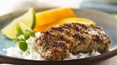 Tired of plain pork?  Jazz grilled chops with a flavor-packed rub.