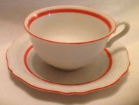 Rosenthal Bahnhof Selb Germany China Chippendale Cup & Saucer